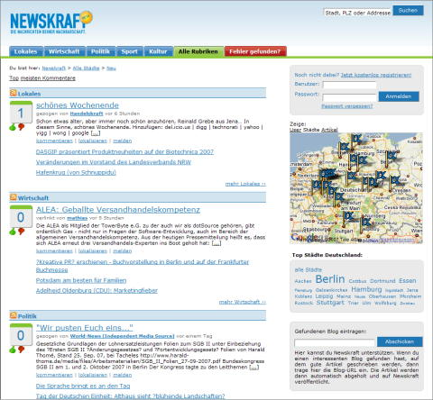 Newskraft Screenshot