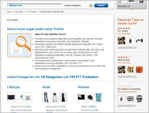 smatch.com Suche