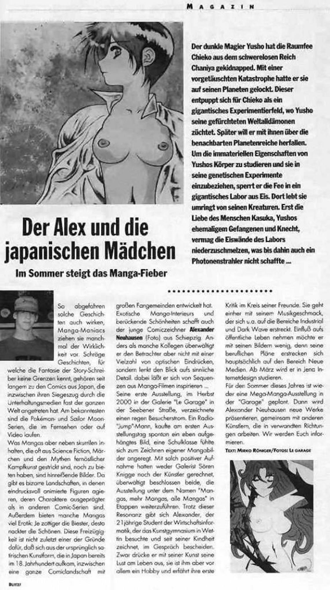Blitz Magazin, 15.03.2001