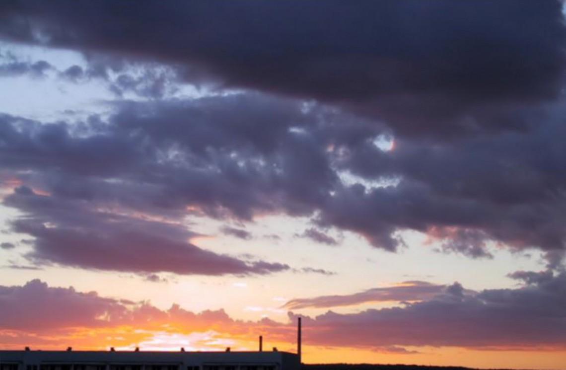Himmel über Lobeda