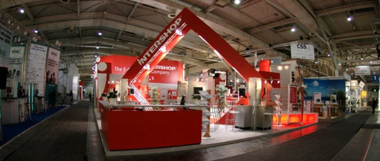 CeBIT 2006 - Intershop Stand