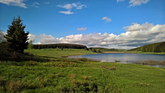 Hochwasser-Schutzbecken Kalte Bode im Harz