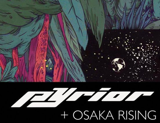 Osaka Rising und Pyrior im Kulturbahnhof