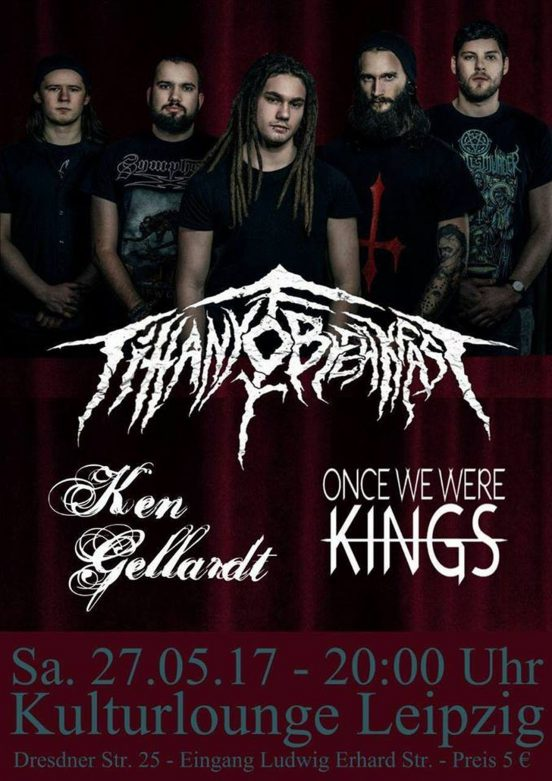 Tiffany for Breakfast, Once we were Kings und Ken Gellardt in der Kulturlounge
