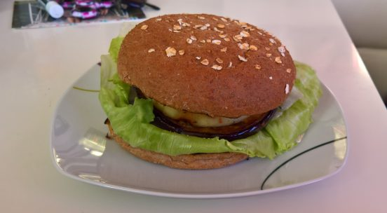 Auberginenburger