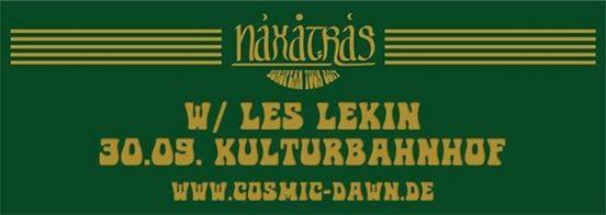 Naxatras und Les Lekin Im Kulturbahnhof Jena