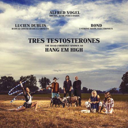 Tres Testosterones im Café Wagner