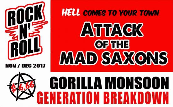 Generation Breakdown und Gorilla Monsoon im Rosenkeller Jena