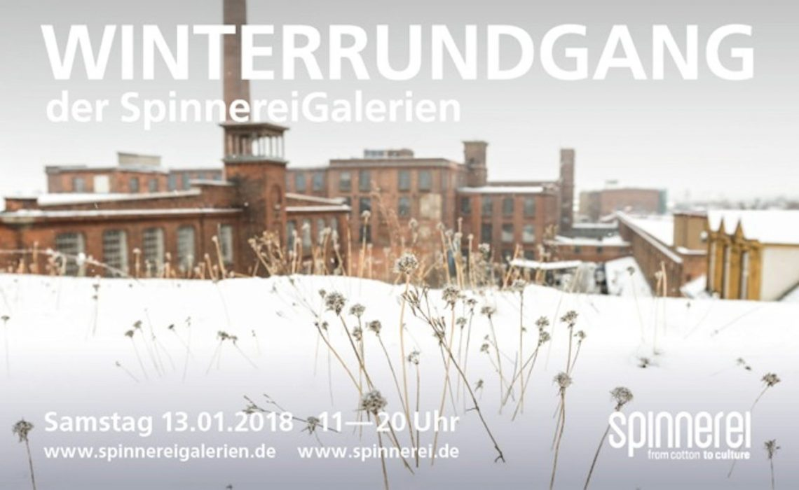 Winterrundgang der SpinnereiGalerien