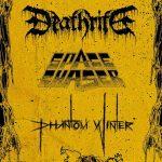 Deathrite, Space Chaser und Phantom Winter im Rosenkeller Jena