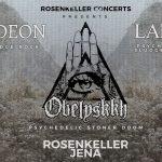 Obelyskkh, Treedeon und Lares im Rosenkeller Jena