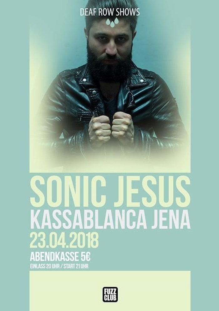 Sonic Jesus in der Kassablanca Turmbühne