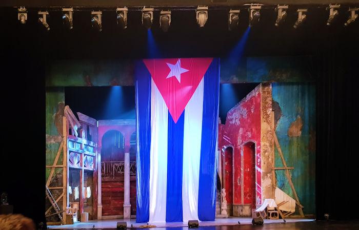 Carmen la Cubana in der Oper Leipzig