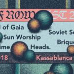 Deaf Row Fest VII im Kassablanca Gleis 1