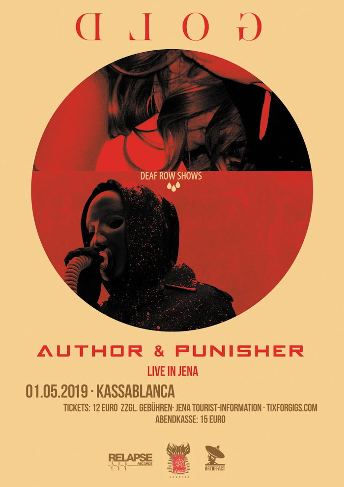 Author & Punisher und Gold im Kassablanca Jena