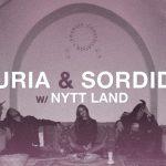 Turia, Nytt Land und Sordide im Bandhaus Leipzig