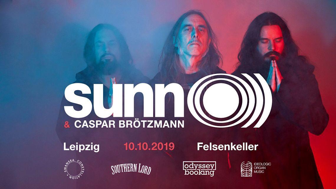Sunn O))) und Caspar Brötzmann im Felsenkeller Leipzig